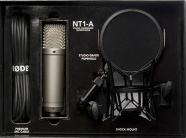 rode nt1 a review the perfect microphone for a home studio project. Black Bedroom Furniture Sets. Home Design Ideas