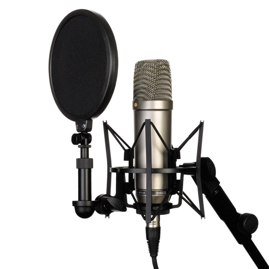 Микрофоны для записи голоса на компьютер в домашних условиях