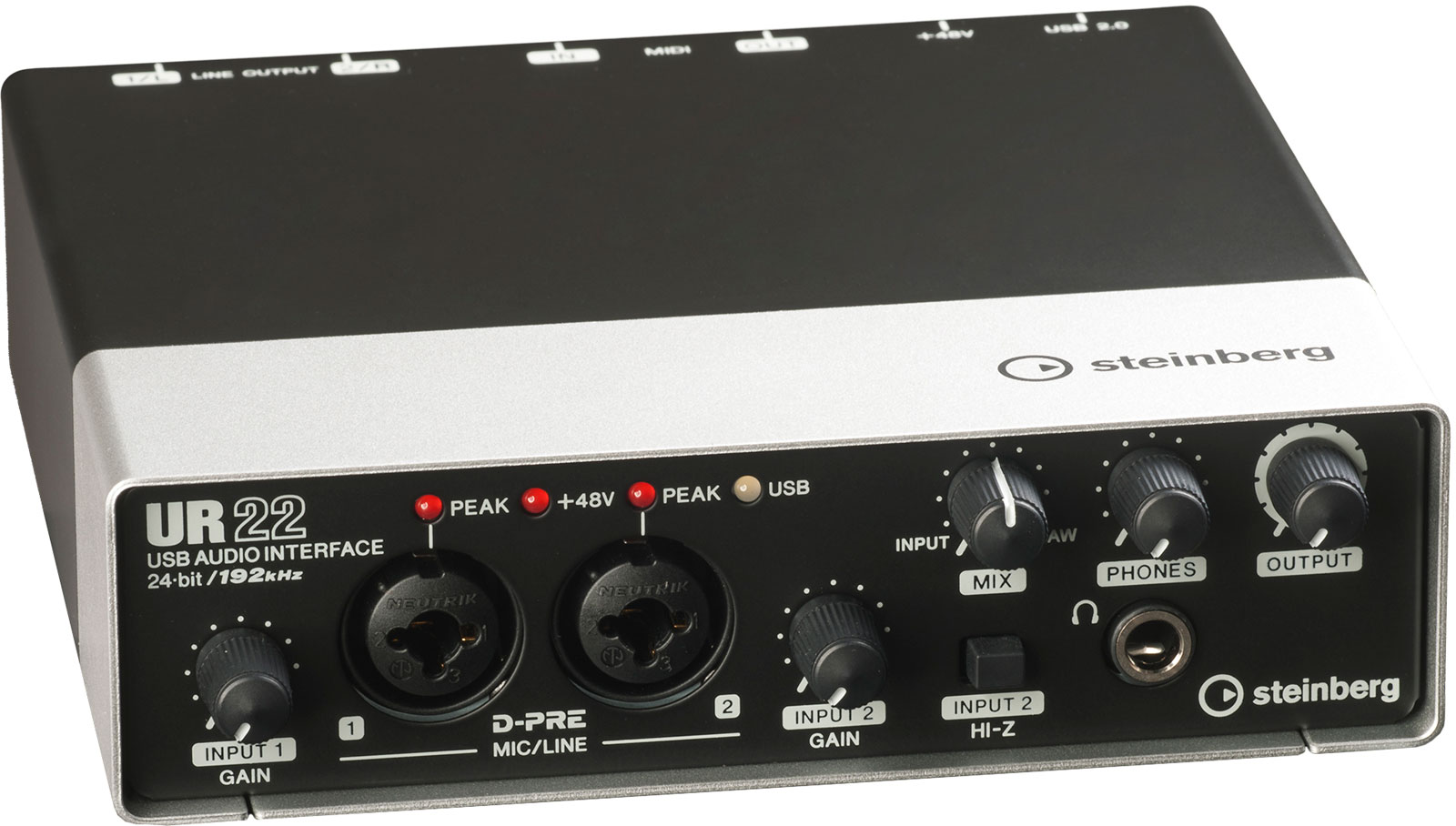 Steinberg UR22 USB Audio Interface Review