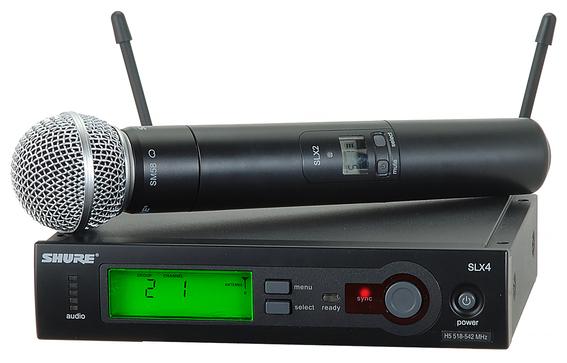 Shure SLX2 SM58 wireless microphone