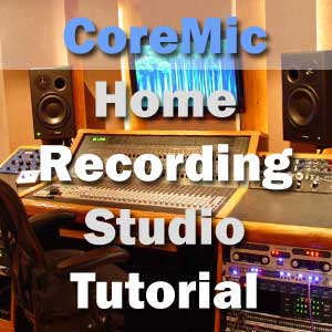 Microphones and recording studio equipment